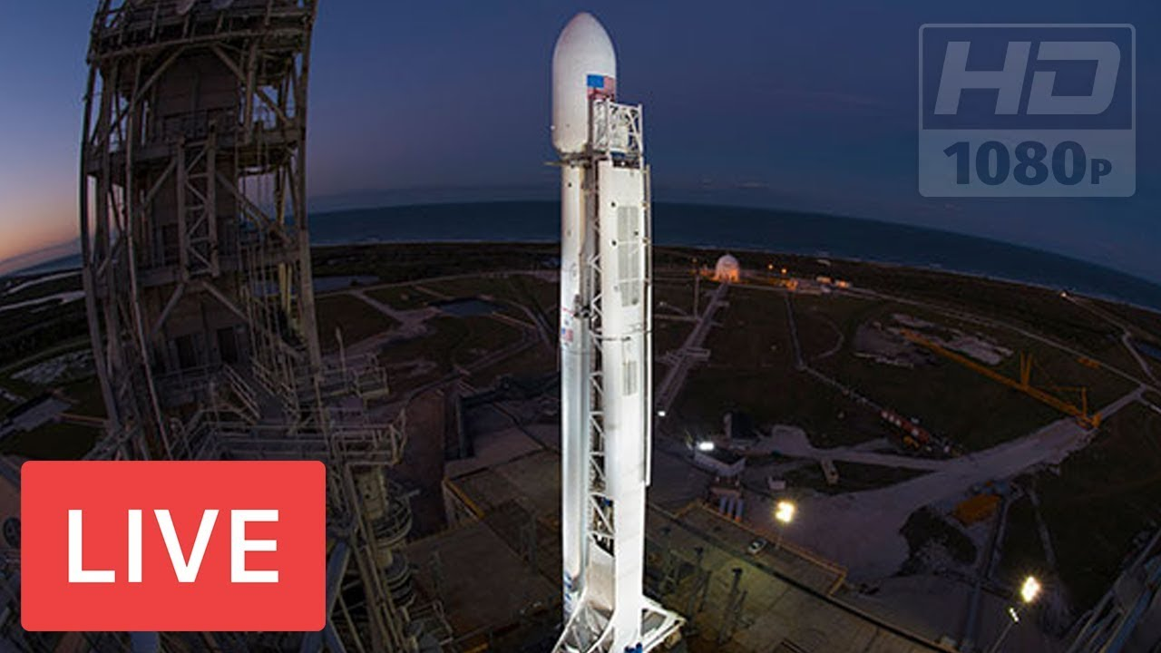 WATCH LIVE: SpaceX to Launch Falcon 9 Rocket #HISPASAT 30W ...