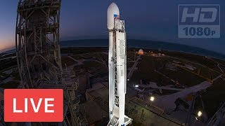 WATCH LIVE: SpaceX to Launch Falcon 9 Rocket #HISPASAT 30W-6 @12:33am EST