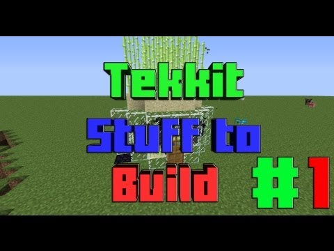 Tekkit Stuff to build #1 Unlimited Red Matter machine