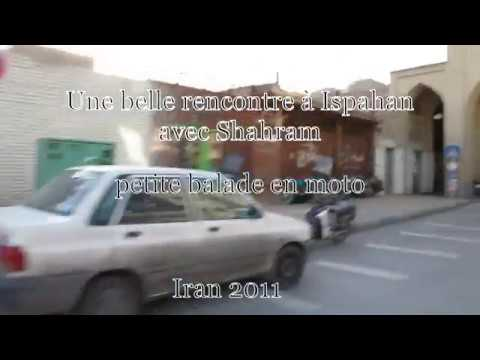 Une petite balade en moto à Ispahan Iran 2011