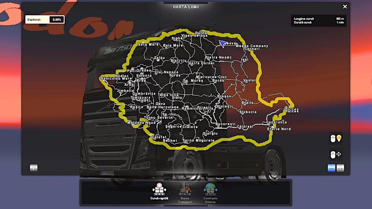 5 Harta Romaniei Sibiu Youtube