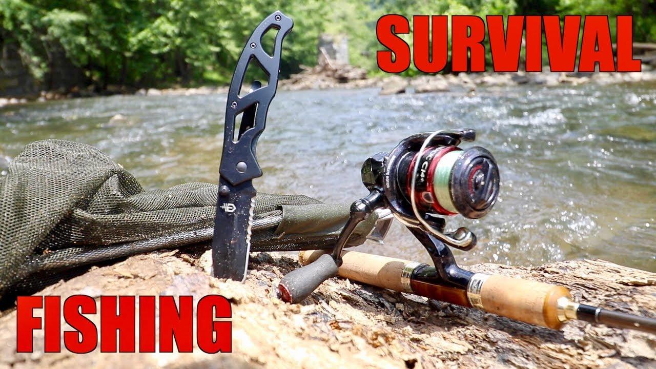 Survival Fishing Challenge No Lures No Bait