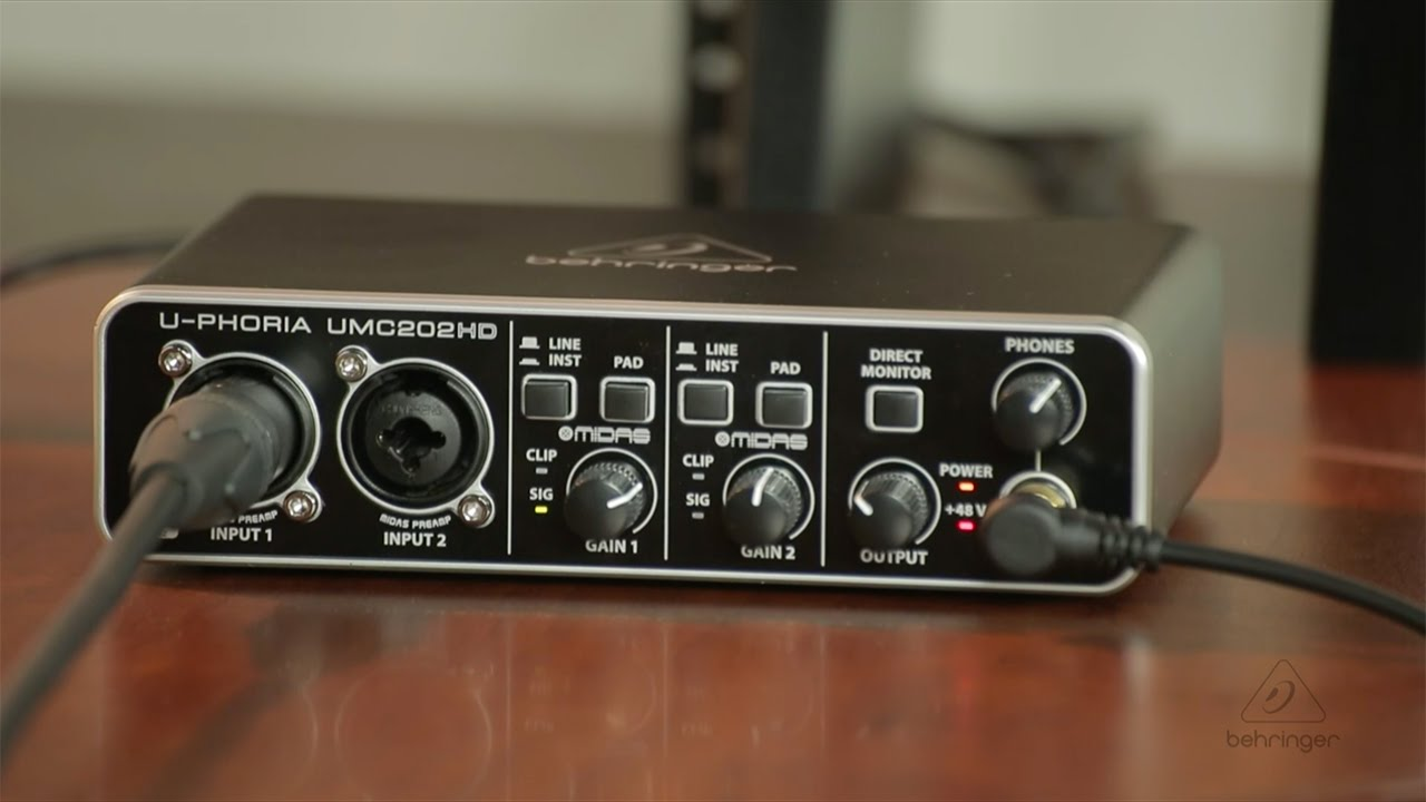 Behringer UMC Audio Interface Setup Guide | Sweetwater