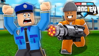 *NEW* MINI-GUN UPDATE in ROBLOX MAD CITY!! (Roblox Livestream)