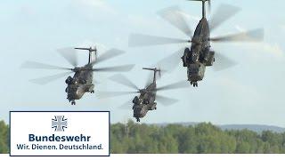 Hubschrauber der Bundeswehr über dem Balaton: Fire Blade 2017