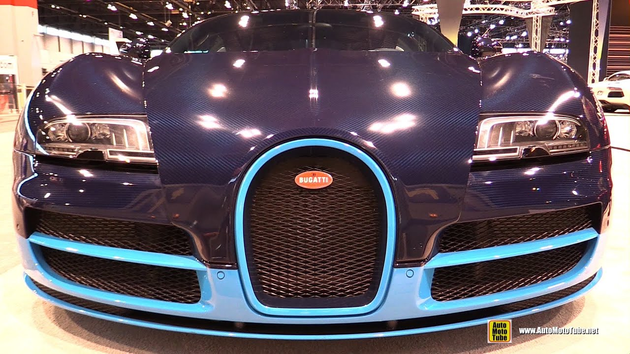 2014 bugatti veyron vitesse exterior and interior walkaround 2016 chicago auto show - Bugatti Interior 2014