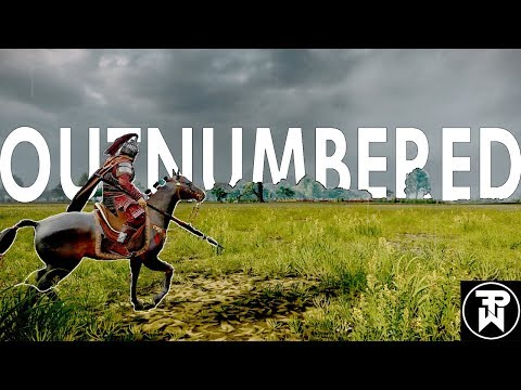 OUTNUMBERED-Total war Three Kingdoms cinematic battle(gameplay) |
