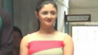 Nach Baliye 7 Finalist | Nandish & Rashmi Promotional Visit @ SNDT College  P1