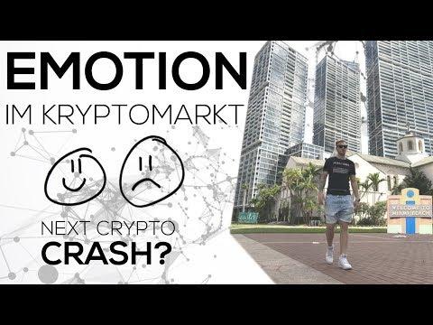 Trading Emotion & Crypto Crash? Das richtige Mindset im Krypto Markt - Coins Litecoin, Lisk, btc,icx