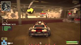 Twisted Metal PS3 Gameplay - A Race to Battle - Sunsprings, CA | WikiGameGuides
