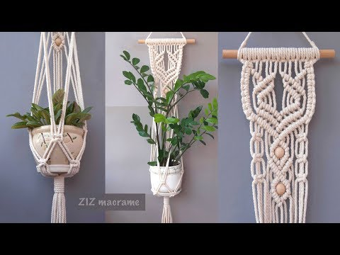 how-to-make-macrame-plant-hanger.-beautiful-macrame-wall-hanging-tutorial.-diy-gift-for-mother's-day