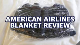 American Airlines Blanket Review