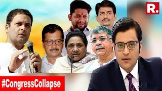 Can Any Leader Save Congress? | The Debate With Arnab Goswami
