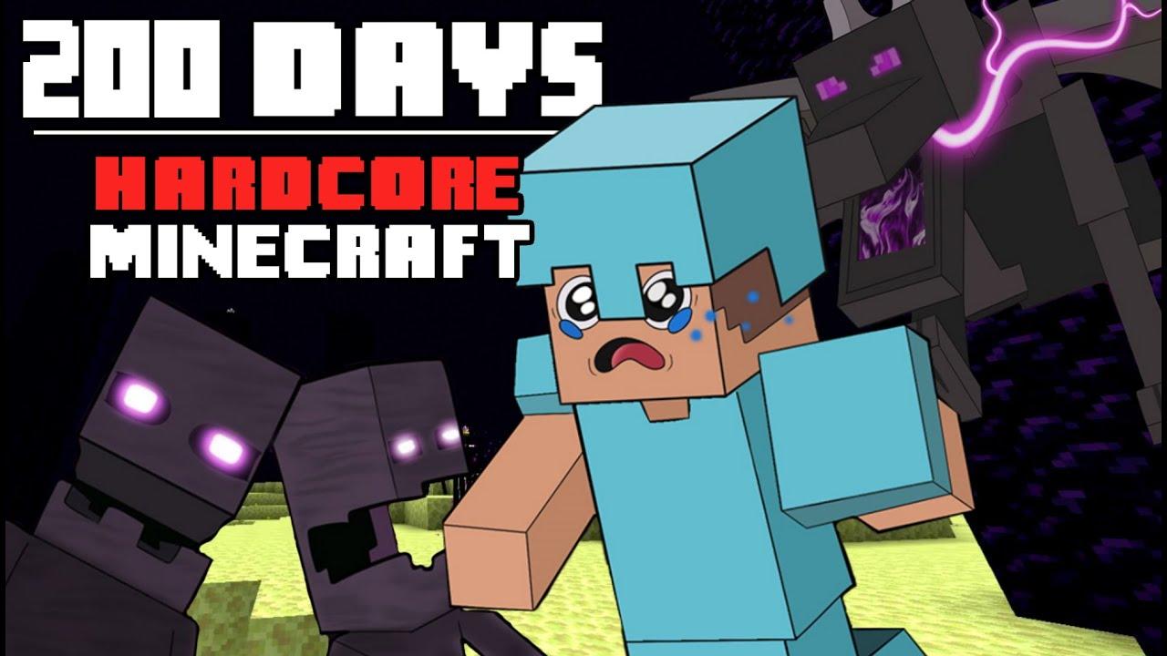200 Days  Hardcore Minecraft