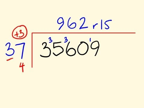 Fast Long Division trick 3 - Maths done an easier way!