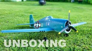 Thumnail for Tower Hobbies F6F Hellcat Unboxing & Quick Build Tips - TheRcSaylors