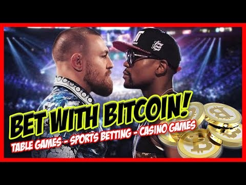 Bet on Boxing, Soccer, Football, Hockey, Baseball WITH BITCOIN! Casino Sports Betting