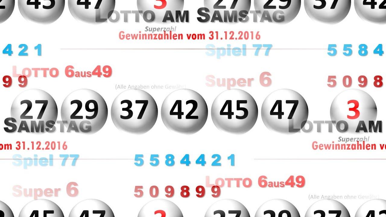 Silvester Lotto Zahlen