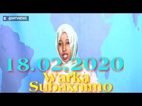 Warka Subaxnimo SNTV 18.02.2020