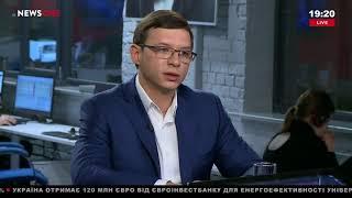Евгений Мураев в «Большом вечере» на телеканале NewsOne, 08.11.17