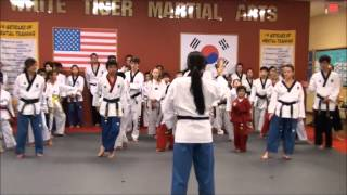 2015 Texas Taekwondo Poomsae Camp