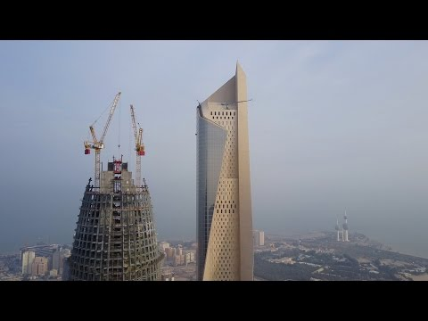 Al-Hamra Tower, Kuwait City 4K - DJI MAVIC PRO