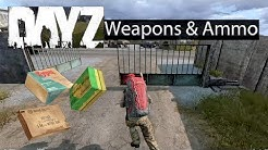 DayZ Xbox One Gameplay Weapons & Ammo Types Guide