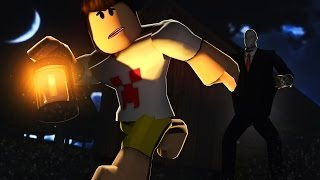 ROBLOX: NEVER PLAY THIS MAP AT DAWN!! (Slender Man's Revenge)
