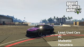 GTA 5 Least Used Cars - #1 Maibatsu Penumbra