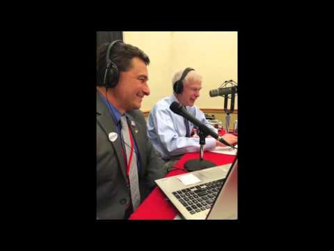 Ande Smith on the Howie Carr Show on at the Maine GOP Convention