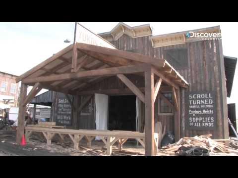 Klondike: Behind the Camera: Set Construction