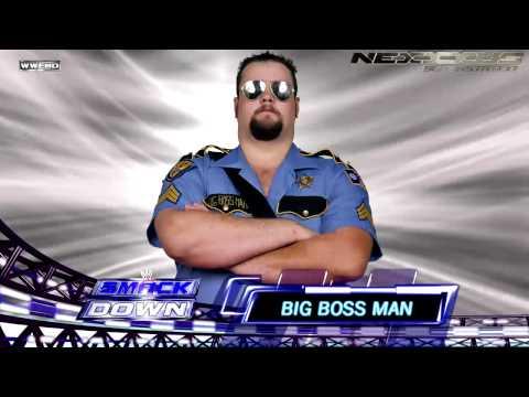 "Big Boss Man 2nd WWE Theme: ""Servin' Hard Time"" [HD 720p]"
