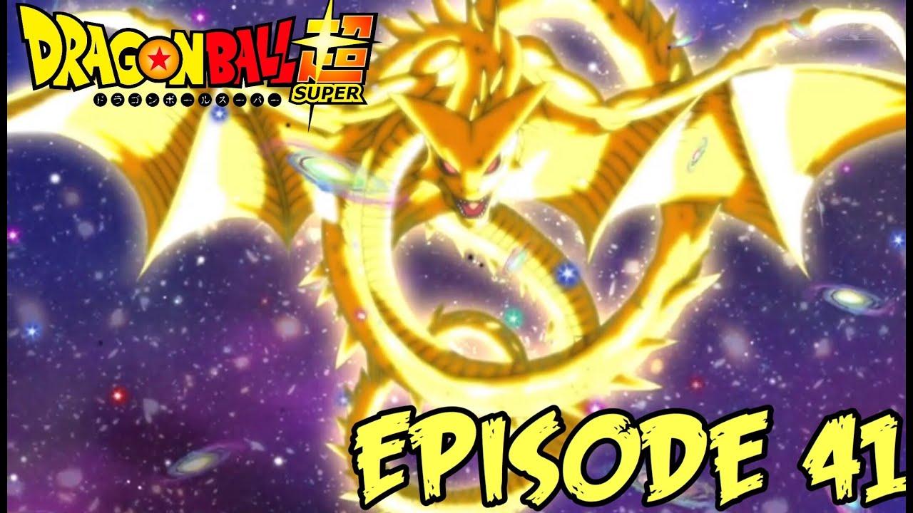 GOD OF DRAGONS, SUPER SHENRON!   Dragon Ball Super Ep. 41 ...