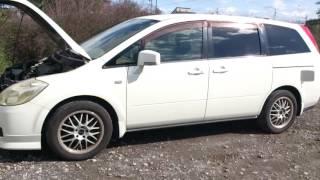 Видео-тест автомобиля Nissan Presage (Tnu31-004895, белый, 2004 г.)