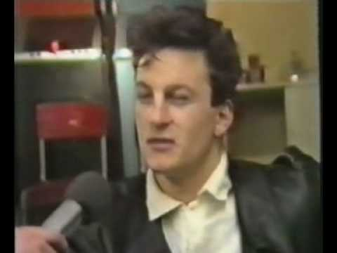 Frankie Goes To Hollywood  Mark O' Toole and Peter Gill backstage Wembley 1987