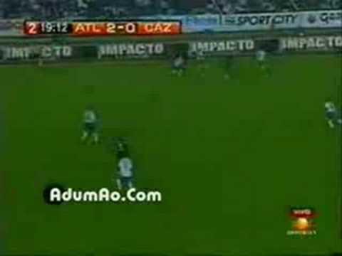 """Atlante vs Cruz Azul - Gol De """"El Chicharro"""" Gonzales (Liguilla Apertura 2007 Cuartos de Final)"""