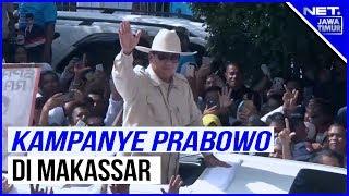 Bendera Golkar Berkibar Di Kampanye Terbuka Prabowo  - NET. JATIM