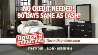 No Credit Check @ Dover's Furniture. Dovers Works Hard To Save You Money