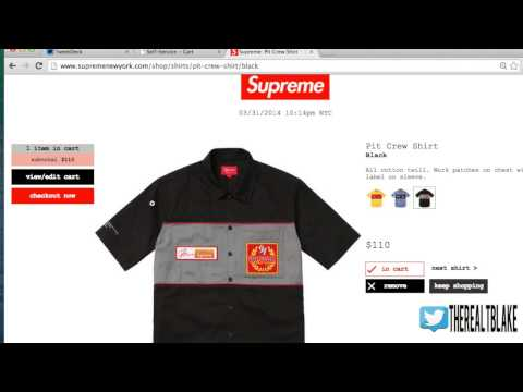 How to Checkout Quickly From Supreme + FAQ