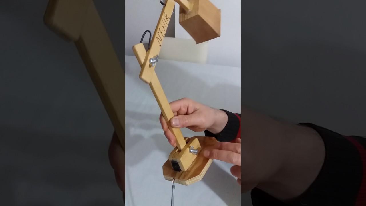 Evde Masa Lambası Nasıl Yapılır