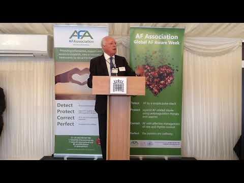 GAFAW in Parliament: Prof A  John Camm - AF Association