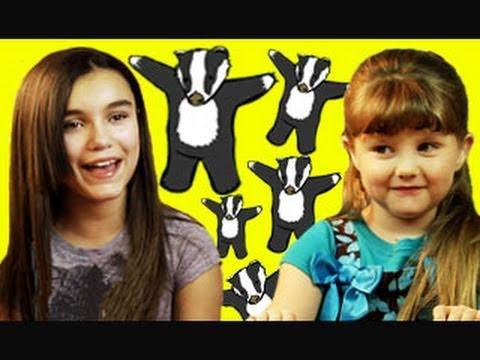 Kids React to Viral Videos! (Stalking Cat, Badgers, Lightning Bolt)
