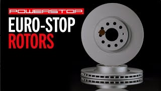 homepage tile video photo for Euro-Stop Brake Rotors | PowerStop
