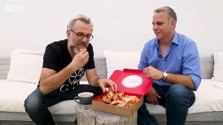 Chef Massimo Bottura tries Cuban pastries in Miami