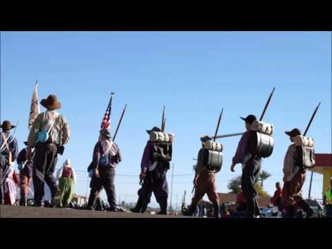 Mormon Militia Marches on Yuma, Arizona, Silver Spur Rodeo Parade