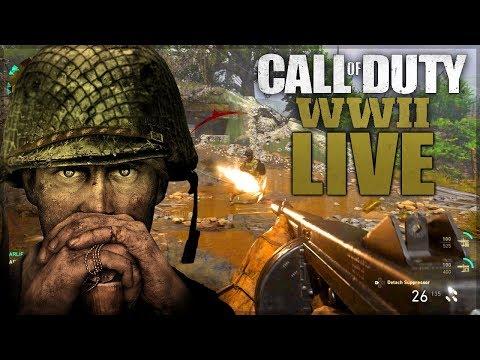 Call of Duty WW2 FR - Live Multijoueur #1 | Gameplay Francais WORLD WAR 2