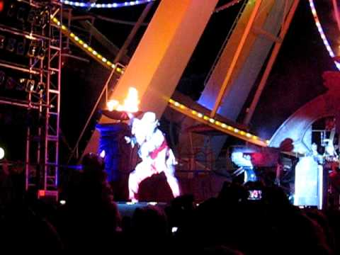 10-30-10 DEAD MANS PARTY FRIGHT FEST SIX FLAGS NJ #1