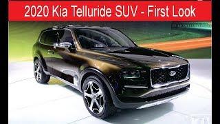 2020 Kia Telluride SUV - First Look - CAR.TV