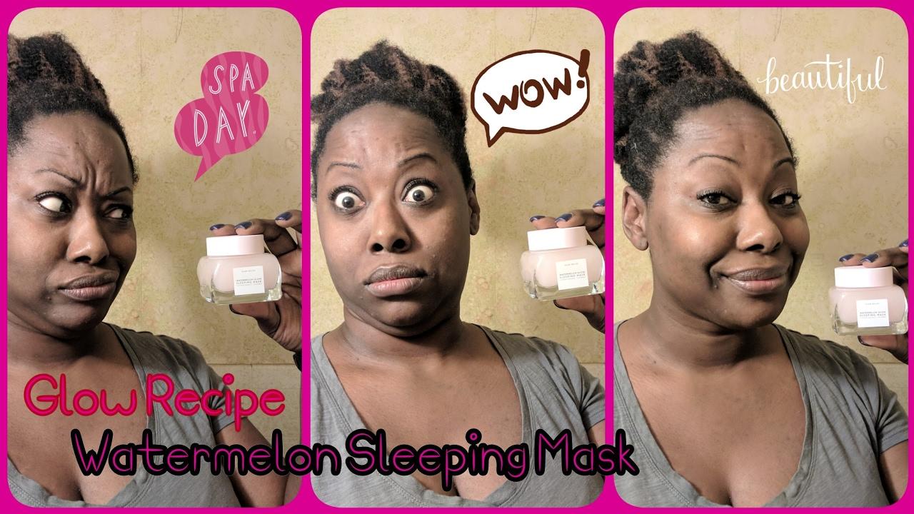 Watermelon Glow Sleeping Mask by glow recipe #15