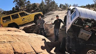 FAB RATS & MATT'S OFF ROAD RECOVERY---TESTING their rigs to the EXTREME!!